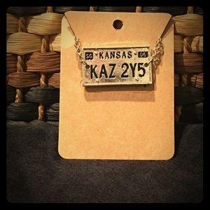 Jewelry - Supernatural License plate bracelet